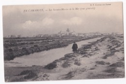 13 – EN CAMARGUE – Les Saintes Marie De La Mer – Vue Général - Francia