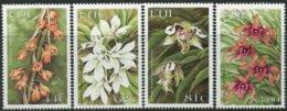 Fidji Fiji 1999 Yvertn°  872-875 *** MNH  Cote 11 € Flore Fleurs Bloemen Orchidées - Fidji (1970-...)