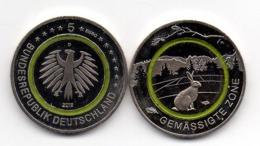 Germany - 5 Euro 2019 - D UNC Rabbit In Temperate Zone Lemberg-Zp Lemberg-Zp - Germany