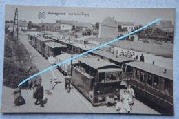 CPA BOURGEOIS Rixensart TRAM VICINAL Tramway Tram à Vapeur Gare - Rixensart