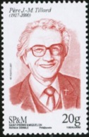 SAINT PIERRE AND MIQUELON SPM 2017 Jean-Marie Roger Tillard Theologians Famous People MNH - Theologen