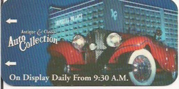 STATI UNITI KEY HOTEL    Imperial Palace Las Vegas - The Auto Collections - Hotelkarten
