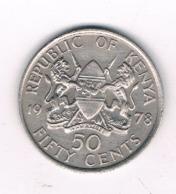 50 CENTS 1978 KENIA /8735/ - Kenya