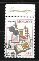 """Monaco;n°2326 O (avec Gomme D'origine ,tampon De Monaco) """" Bourse 2001"""" Sous Faciale - Zonder Classificatie"""