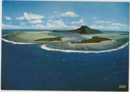 MAUPITI - Une Des Plus Belles Iles Sous Le Vent - MONTAGNE, LAGON - CPM TBon Etat (voir Scan) - Polynésie Française