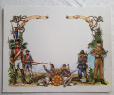 Certificat Du Service Militaire Vierge (  1807 1848 Tonkin 1885) - Documenti