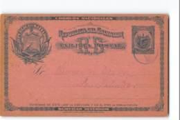 12059 POSTAL STATIONARY  SALVADOR - 1895 - El Salvador
