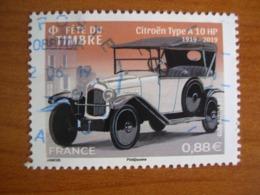 France Obl N° 5302    Cachet Rond Bleu - France
