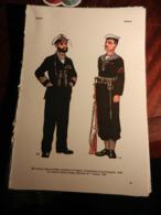 1) DIVISA MILITARE GRECIA MARINA REALE COMANDANTE SOMMERGIBILI E MARINAIO - GERMANIA TENENTE AVIAZIONE E CAPITANO - Divise