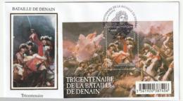 FDC - FRANCE - 2012 - Bloc Tricentenaire De La Bataille De Denain . - FDC
