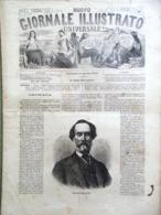 Nuovo Giornale Illustrato Universale 3 Aprile 1870 Czernowitz Schiavoni Zurigo - Voor 1900