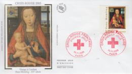 Enveloppe   FDC  1er   Jour    FRANCE      CROIX  ROUGE   2005 - 2000-2009