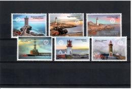 Tajikistan 2018 . Lighthouses. 6v: 1.85, 3.50, 4.20, 5.80, 7.60, 10 - Tagikistan