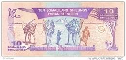 SOMALILAND P.  2b 10 S 1996 UNC - Banconote