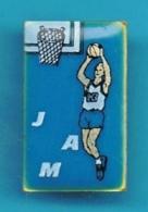 PIN'S //   ** BASKETBALL JAM / JEUX DE SPORT GAME ** - Basketbal