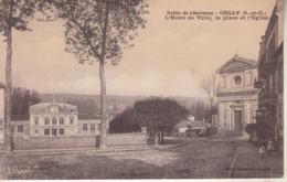 ORSAY - L'Hôtel De Ville ,la Place De L'Eglise - Orsay