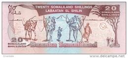 SOMALILAND P.  3a 20 S 1994 UNC - Billetes