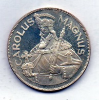 ANDORRA, 50 Diners, Silver, Year 1960, KM #M2, Proof - Andorra