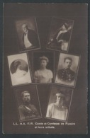 +++ CPA - Famille Royale - Belgique - Comte Et Comtesse De Flandre Et Leurs Enfants  // - Case Reali