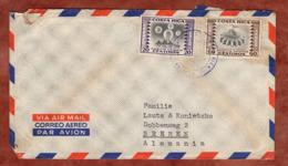 Luftpost, Grossindustrie U.a., San Jose Nach Bremen 1954? (82157) - Costa Rica
