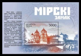 Belarus 2010 Mih. 844 (Bl.81) Mirskiy Castle MNH ** - Bielorussia