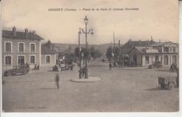 JOIGNY - Place De La Gare Et Avenue Gambetta - Joigny