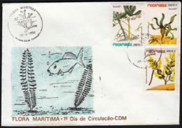 Mozambique 1992 / Flora Maritima, Marine Flowers, Rhisophora Mucronata, Cymodocea Ciliata, Sophora Inhambanensis - Pflanzen Und Botanik