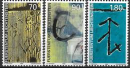 1999 Liechtenstein Mi. 1220-2 **MNH   Walser-Hauszeichen. - Ongebruikt