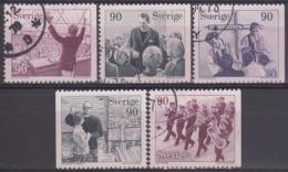 SUECIA 1978 Nº 999/1003 USADO - Gebraucht