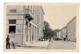 1939 YUGOSLAVIA, BOSNIA, TREBINJE TO NIKSIC, KING ALEKSANDAR STREET, ILLUSTRATED POSTCARD, USED - Bosnia And Herzegovina