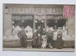 CPA - 75 - GRAINETERIE ST CHARLES  - CARTE PHOTO - 75015 - Arrondissement: 15