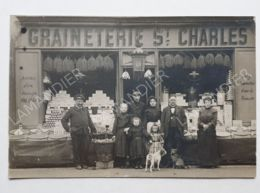 CPA - 75 - GRAINETERIE ST CHARLES  (2) - CARTE PHOTO - 75015 - District 15