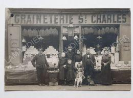 CPA - 75 - GRAINETERIE ST CHARLES  (2) - CARTE PHOTO - 75015 - Arrondissement: 15