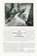 Les Merveilles De L`ile Mysterieuse /  Article,  Pris D`un Magazine / 1910/1911 - Ohne Zuordnung