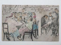 CPA - CARTE FANTAISIE CHATS ET SINGES - SÉRIE B - N°2103 - 1900-1949