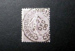 FRANCE 1903 N°133 OBL. (SEMEUSE LIGNÉE. 30C VIOLET) - 1903-60 Semeuse Lignée