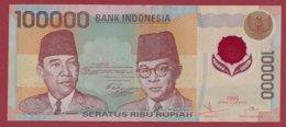 Indonésie 100000 Rupiah 1999 Dans L 'état (211) - Indonesia