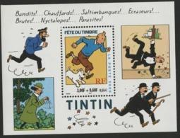 "BF 28 ""TINTIN Fête Du Timbre"". Neuf Sans Charnière **. TB - Nuovi"