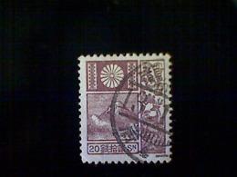 Japan, Scott #176, Used (o), 1930, Mount Fuji, 20s, Red Brown - 1926-89 Emperor Hirohito (Showa Era)