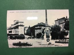 Cartolina Genzano - Piazza V Novembre E Monum. Ai Caduti - Replica 1950 Ca - Roma
