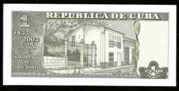 * Cuba 1 Peso Commemorative 2003 ! UNC ! - Kuba
