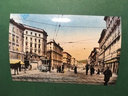 Cartolina Trieste - Via G. Carducci - Replica 1950 Ca - Trieste