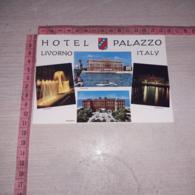 C-78692 LIVORNO HOTEL PALAZZO PANORAMA VEDUTE STEMMA ARALDICA - Livorno