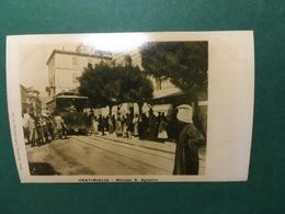 Cartolina Ventimiglia - Mercato S. Agostino - Replica 1950 Ca - Imperia
