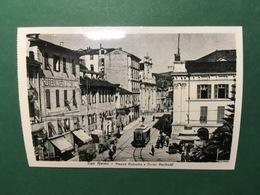 Cartolina San Remo - Piazza Colombo E Corso Garibaldi - Replica 1950 Ca - Imperia
