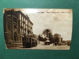 Cartolina San Remo - Chiesa Presbiyteriana E Hotel De Paris - Replica 1950 Ca - Imperia