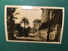 Cartolina San Remo - Corso Imperatrice - Replica 1950 Ca - Imperia