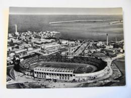 BARI   PUGLIA STADIO STADION STADIUM STADE STADT  POSTCARD  USED BOLLO RIMOSSO - Stadi