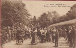 Kamp Van Camp D' Elsenborn Dans In Open Lucht Danses En Plein Air Armee Belge Belgisch Leger Soldaten Militaria Soldaten - Elsenborn (camp)