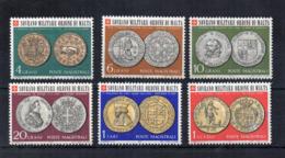 Sovrano Ordine Militare Di Malta (S.M.O.M.) - 1970 - Monete Dell'Ordine - 6 Valori - Nuovi ** - (FDC18439) - Münzen